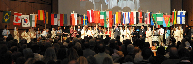Internationaler Gottesdienst Darmstadtium 2012